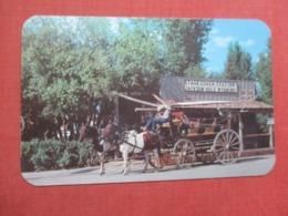 Old Stagecoach & Stage Station  Jackson  Wyoming    Ref 4269 - Etats-Unis