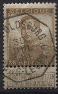 N°113 Obl. Télégraphique Bil. LEOPOLDSBURG BOURG-LEOPOLD. Telegraaf - 1912 Pellens