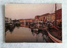 Cartolina Illustrata Cesenatico - Porto Canale, Per Cesena 1992 - Other Cities