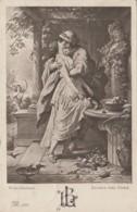 Arts - Peinture W. Von Kaulbach - Alexis Et Dora - Poème Goethe - Couple - Postmarked Saargemund 1910 - Pintura & Cuadros
