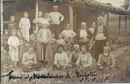 08 - 2020 - EUROPE - MACEDOINE - Carte Photo - Turcs Et Macédoniens De Monastir En 1917 - Mazedonien