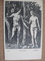Adam And Eve      By Albrecht Durer - Pintura & Cuadros