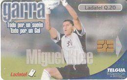 GUATEMALA. FUTBOL - FOOTBALL. Miguel Klee - Garra. GT-TLG-0238. (003) - Guatemala