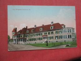 City Hospital  Vermont > Rutland   Ref 4269 - Rutland
