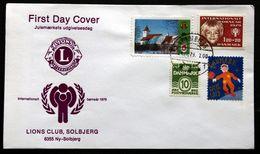 Denmark 1979 Lions Club,Solbjerg   FDC (lot  243) - Denmark