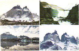 Chile:Torres Del Paine, Lago Grey, Cuernos Del Paine, Santo Grande Del Paine - Cile