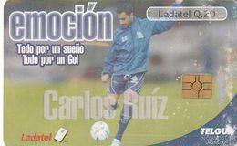 GUATEMALA. FUTBOL - FOOTBALL. Carlos Ruiz - Emoción. GT-TLG-0235A. (004) REGULAR - Guatemala