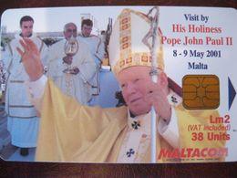 Télécarte De Malte - Malta
