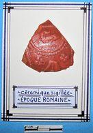 Céramique Sigillée Représentant Un Animal. Epoque Romaine. - Arqueología