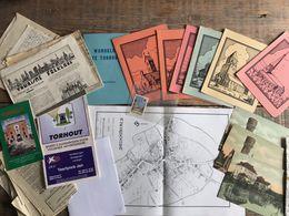 Wandelen Te TORHOUT (Herwig VERLEYEN) + Archiefstukken - Carten En Verscheidene Stukken Vlaanderen Régionalisme Document - Histoire