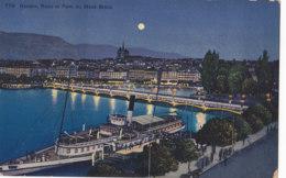 Genève (Suisse) - Rade Et Pont Du Mont Blanc - GE Genève