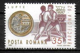 ROUMANIE    ( BF 226 )  * *  JO 1992  Lutte - Wrestling
