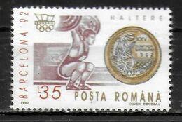 ROUMANIE    ( BF 226 )  * *  JO 1992  Halterophilie - Pesistica