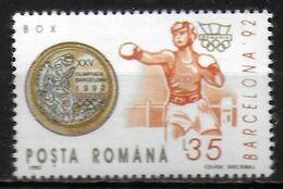 ROUMANIE    ( BF 226 )  * *  JO 1992  Boxe - Boxen