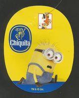 # PINEAPPLE CHIQUITA DESPICABLE ME 3 (Minion 2) Fruit Tag Balise Etiqueta Anhanger Costa Rica Ananas Pina - Fruit En Groenten