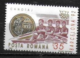 ROUMANIE    ( BF 225 )  * *  JO 1992  Aviron - Rowing