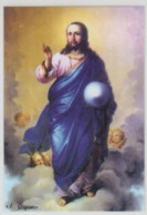 Romania - Agapia Monastery - Nicolae Grigorescu - Jesus Christ - Byzantine Icon Painting Russian School Mm 96/67 - Pintura & Cuadros