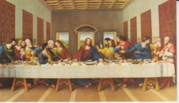 Leonardo Da Vinci - The Last Supper - Painting - 98/57 Mm - Pintura & Cuadros