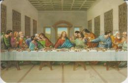 Leonardo Da Vinci - The Last Supper - Painting - Calendar 1999 - 103/68 Mm - Pintura & Cuadros