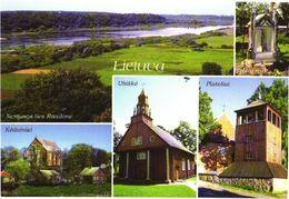 Lithuania:Views, Kedainiai, Ubiske Church, Plaeliai - Lituania