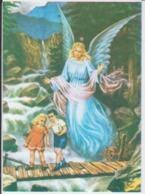 Angel Protecting The Children Ange - 86/61 Mm - Pintura & Cuadros