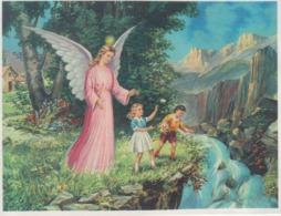 Angel Protecting The Children Ange - 85/65 Mm - Pintura & Cuadros