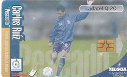 GUATEMALA. FUTBOL - FOOTBALL. Carlos Ruíz - Pescado. GT-TLG-0229. (006) - Guatemala