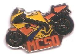 TT52 Pin's MOTO MC50 Moso Achat Immédiat - Motorräder