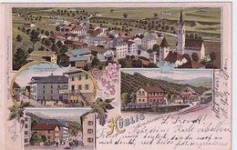 Gruss Aus Küblis - Mehrbildlitho - Verlag Zingg, Baden - 1903       (P-267-00607) - GR Grisons