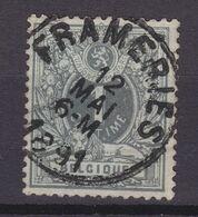 N° 43 FRAMERIES - 1869-1888 Lying Lion
