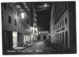 CLB014 - BENEVENTO VIA ARCO TRAIANO NOTTURNO 1950 CIRCA - Benevento