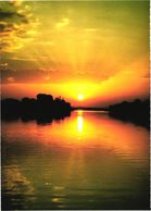 Ethiopia:Sunset Over Lake Tana - Ethiopie