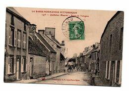 QUETTEHOU ROUTE DE VALOGNES  ANIMEE - Frankreich