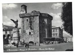 CLB021 - BENEVENTO PIAZZA 4 NOVEMBRE ROCCA DEI RETTORI ANIMATA 1950 CIRCA - Benevento