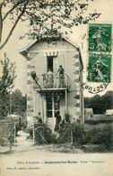 PEU COMMUNE ! ANDERNOS 1912 VILLA GOUBET ANIMEE  BASSIN ARCACHON - France