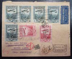 1931.- BARCELONA A BUENOS AIRES (ARGENTINA) - 1931-50 Briefe U. Dokumente