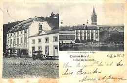 Tilff - Hôtel Restaurant Casino Royal (animée Précurseur 1901...taches) - Esneux