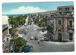 CLB042 -  REGGIO CALABRIA VIALE G ZERBI ANIMATA 1950 CIRCA - Reggio Calabria
