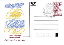 Cesca, 1993, Tomas Vosolsobě Vystava Obrazu Postovni Muzeum, Tomas Vosolsoba Exhibition Of The Painting, Postovni Muzeum - Ansichtskarten