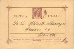 Filipinas. E.P. To Manila. 18/1/1898. - Philipines