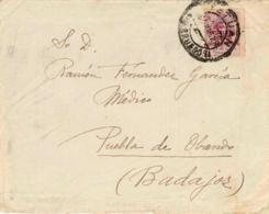 Marruecos. Carta De Tetuán A Puebla De Obando. - Maroc Espagnol