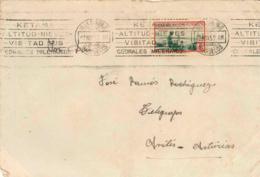 Marruecos. Carta De Villa Sanjurjo A Avilés, Año 1952. - Maroc Espagnol