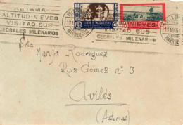 Marruecos. Carta De Villa Sanjurjo A Avilés. Año 1951. - Maroc Espagnol