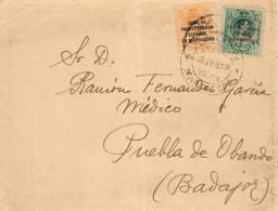 Marruecos. Carta De Tetuán A Puebla De Obando, Año 1923. - Maroc Espagnol