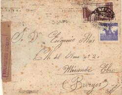 Marruecos. Carta De Tetuán A Miranda De Ebro. Año 1948. - Maroc Espagnol