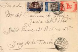 Marruecos. Carta De Larache A Jerez, Año 1950. - Maroc Espagnol