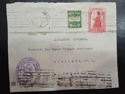 1931.- BARCELONA A ZARAGOZA. - 1931-50 Briefe U. Dokumente