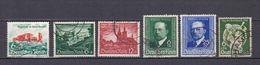 Deutsches Reich - 1940 - Michel Nr. 748/750 + 760/761 - Gestempelt - 28 Euro - Used Stamps