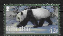 GIBRALTAR  N° 1434  * *  Especes Menacees Ours Panda Geant - Bears
