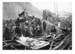 SAINT-MICHEL-DE-MAURIENNE - Accident Ferroviaire Du 12 Décembre 1917 - Saint Michel De Maurienne